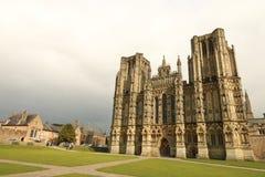 Engelse Kathedraal op een de winterdag Royalty-vrije Stock Fotografie