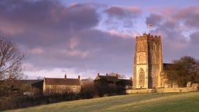 Engelse Kerk Stock Foto's