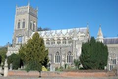 Engelse Kerk Royalty-vrije Stock Foto