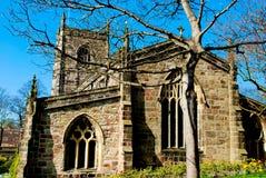 Engelse Kerk Stock Foto