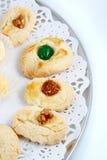 Engelse koekjes Stock Afbeeldingen