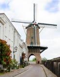 Engelse Lek van Rijn van de molen Stock Fotografie