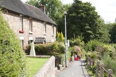 Engelse plattelandshuisjes Stock Afbeelding