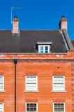 Engelse Rijtjeshuis dichte omhooggaand Royalty-vrije Stock Foto