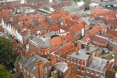 Engelse stad Stock Fotografie