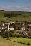 Engelse Stad in Dorset Stock Fotografie