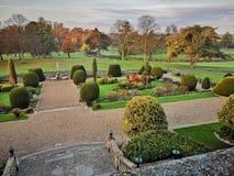 Engelse tuin stock afbeeldingen