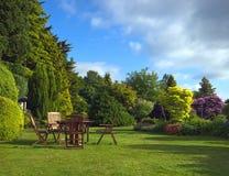 Engelse Tuin Royalty-vrije Stock Afbeeldingen