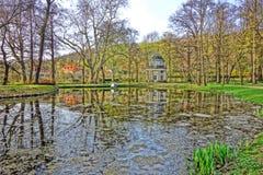 Engelse tuin Royalty-vrije Stock Afbeelding