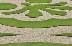 Engelse tuinvertoning Royalty-vrije Stock Afbeeldingen