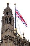 Engelse vlag Stock Afbeeldingen