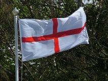 Engelse vlag van St George Royalty-vrije Stock Foto's