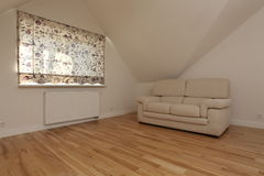 Engelse woonkamer Royalty-vrije Stock Foto