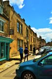 Engelse Zandsteenstad Stock Foto's
