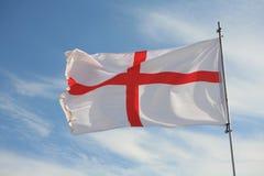 engelsk flagga Arkivbild