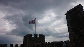 engelsk flagga Royaltyfri Fotografi