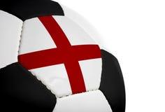 engelsk flaggafotboll Royaltyfri Bild