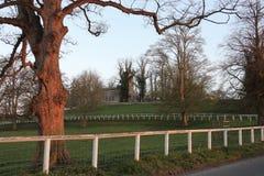 Engelsk församlingkyrka - North Yorkshire - England Fotografering för Bildbyråer