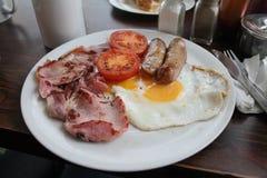 Engelsk frukost Arkivfoto