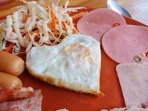 Engelsk frukostupps?ttning arkivfoto