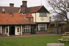engelsk gästgivargårdby Royaltyfri Bild