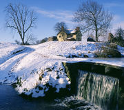 engelsk gammal s-vinter Royaltyfria Bilder
