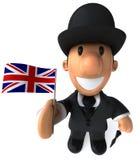 engelsk gentleman vektor illustrationer