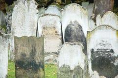 engelsk kyrkogård Arkivbilder