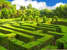 engelsk labyrint Arkivbild