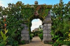 Engelsk landsträdgård royaltyfria foton