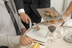 engelsk servingstil Royaltyfri Fotografi
