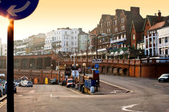 Engelsk stadsarkitektur royaltyfri foto