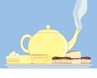 engelsk tea Fotografering för Bildbyråer