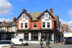 engelsk town Royaltyfri Bild