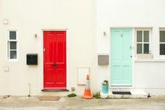 Engelska dörrar Royaltyfri Bild
