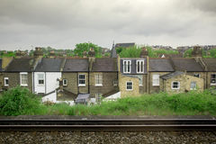 engelska hus Royaltyfri Foto