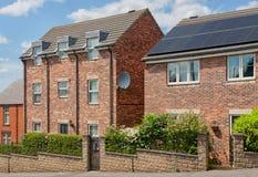 engelska hus typisk arkitekturengelska white för struktur för bakgrundstegelstenhus fotografering för bildbyråer