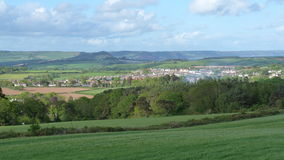 Engelska landskap i Devon royaltyfria foton