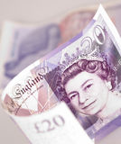 engelska pengar Arkivfoton
