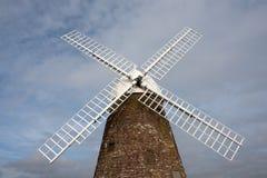 engelska seglar windmillen Fotografering för Bildbyråer