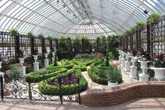 engelska trädgårdar Arkivbilder