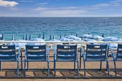 Engelskapromenad, Nice, franska Riviera Royaltyfri Foto