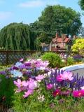 engelskaträdgård Fotografering för Bildbyråer