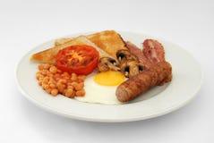engelskt fullt för frukost Arkivbilder