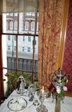 engelskt gammalt fönster Royaltyfria Bilder