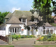 engelskt hus Royaltyfria Foton