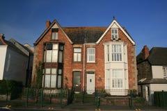 engelskt hus Arkivbild