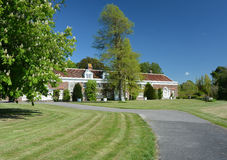 Engelskt landsgodshus Arkivbilder