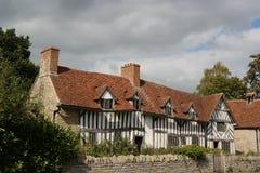 Engelskt landshus Arkivbilder