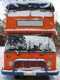 engelskt retro för bussdäckaredouble Fotografering för Bildbyråer